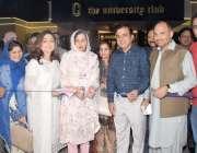 لاہور: گورنر پنجاب کی اہلیہ بیگم پروین سرور پنجاب یونیورسٹی میں اکیڈمک ..