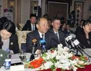 اسلام آباد: وائس چیئرمین این ڈی آر سی ننگ جیزھی نویں مشترکہ تعاون کمیٹی ..