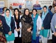 لاہور: گورنر پنجاب کی اہلیہ بیگم پروین سرور کا لاہور ائیر پورٹ پر ہیپا ..