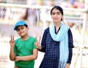 مظفرآباد: کشمیریوں سے اظہار یکجہتی کیلئے منعقدہ جلسے میں بچے وکڑی کا ..