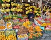 اسلام آباد: وفاقی دارالحکومت میں صارفین کو راغب کرنے کیلئے پھل کا بندوبست ..