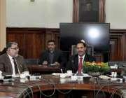 لاہور: سیکرٹری پنجاب اسمبلی محمد خاں بھٹی برٹش کونسل کے ادارے تعمیر ..