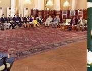 اسلام آباد: صدر مملکت ڈاکٹر عارف علوی اے پی این ای ایف پی جے ایف کے وفد ..