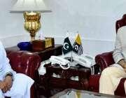 مظفر آباد: صدر آزاد کشمیر سردار مسعود خان سے ممبر قانون ساز اسمبلی آزاد ..
