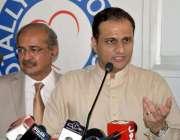 کراچی :مشیر اطلاعات قانون و اینٹی کرپشن سندھ بیرسٹر مرتضی وہاب گزری ..