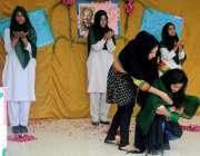 راولپنڈی: گورنمنٹ ڈگری کالج ڈھوک رتہ میں اقبال ڈے کی مناسبت سے منعقدہ ..
