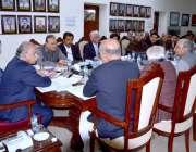 کوئٹہ: قائمہ کمیٹی برائے پٹرولیم کے چیئرمین سینیٹر محسن عزیز کی صدارت ..