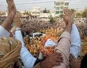 گوجر خان: جمعیت علمائے اسلام (جے یو آئی ف) کے سربراہ مولانا فضل الرحمان ..