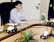 لاہور:صوبائی وزیر صنعت و تجارت میاں اسلم اقبال انڈسٹریل اسٹیٹس میں ..