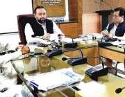 پشاور: وزیر صحت خیبر پختونخوا ڈاکٹر ہشام انعام اللہ خان ہیلتھ کیئر ..