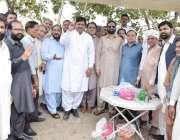 لاہور: کوٹ لکھپت جیل میں قید سابق وزیر اعظم نواز شریف سے اظہار یکجہتی ..