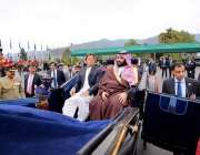 اسلام آباد: وزیر اعظم عمران خان اور سعودی ولی عہد محمد بن سلمان صدارت ..