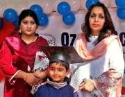راولپنڈی: اوزون سکول میں سالانہ تقسیم انعامات کے موقع پر مہمان خصوصی ..