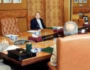 اسلام آباد: صدر مملکت ڈاکٹر عارف علوی ویڈیو لنک کے ذریعے کانفرنس سے ..