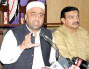 لاہور: آل پاکستان انجمن تاجران کے جنرل سیکرٹری نعیم میر پریس کانفرنس ..