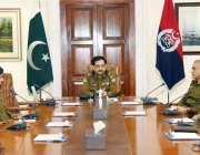 لاہور : آئی جی پنجاب کیپٹن (ر) عارف نواز سنٹرل پولیس آفس کے دورے پرآئے ..