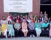 لاہور: پنجاب یونیورسٹی سنٹر فا کلینیکل سائیکالوجی کے زیر اہتمام منعقدہ ..