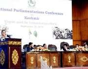 اسلام آباد: وزیر اعظم کے معاون خصوصی برائے نشریات و نشریات ڈاکٹر فردوس ..