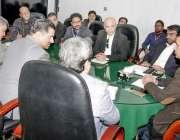 لاہور: وائس چیئرپرسن او پی سی وسیم اختر سے برطانیہ، ڈنمارک، ناروے اور ..