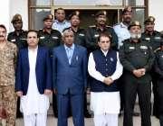 مظفرآباد: وزیراعظم آزادکشمیر راجہ محمد فاروق حیدر خان سے سوڈان کی فوج ..