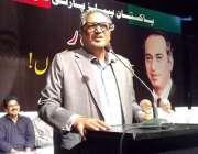 کراچی: آرٹس کونسل کراچی میں منعقدہ سیمینار سے صحافی سہیل وڑائچ خطاب ..