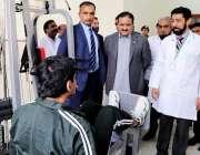 لاہور: وزیر اعلیٰ پنجاب عثمان بزدار پنجاب انسٹی ٹیوٹ آف مینٹل ہیلتھ ..