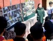راولپنڈی: ریسکیو 1122 کے اہلکار شہریوں کو حادثات سے بچنے کی تربیت دے رہے ..