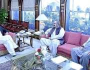 اسلام آباد: وزیر اعظم عمران خان نے علی امین خان گنڈا پور ، وزیر امور ..