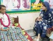 ظفر وال: مسلم لیگ (ن) کی نائب صدر مریم نواز سرطان کے مرض میں مبتلا پارٹی ..