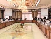 اسلام آباد: وزیر اعظم عمران خان سے چینی بزنس کمیونٹی کا وفد ملاقات کر ..