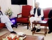 لاہور: وزیر اعلیٰ پنجاب سردار عثمان بزدار سے معروف برطانوی بزنس مین ..