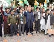 لاہور: تحریک انصاف آزاد کشمیر کے سیکرٹری جنرل و ایم ایل اے غلام محی ..