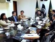 اسلام آباد: وفاقی وزیر ریلوے شیخ رشید احمد سے این ایل جی سی کے حکام ملاقات ..