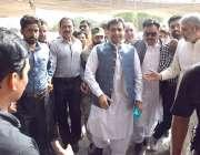 لاہور: پنجاب اسمبلی میں قائد حزب اختلاف حمزہ شہباز پنجاب اسمبلی کے ..
