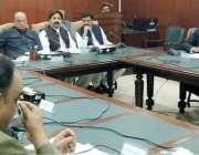 لاہور: صوبائی وزیر قانون و بلدیات راجہ بشارت کابینہ کمیی برائے لاء ..