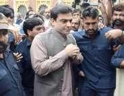 لاہور: ہائیکورٹ میں قائد حزب اختلاف حمزہ شہباز شریف عبوری ضمانت کی ..