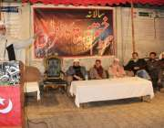 لاہور: مجلس احرار کے نائب امیر سید کفیل شاہ بخاری ختم نبوت کانفرنس سے ..