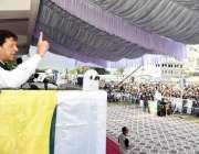 مظفرآباد: وزیر اعظم عمران خان کشمیریوں سے اظہار یکجہتی کے لئے ایک بڑے ..