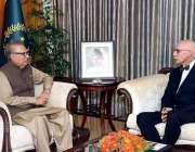 اسلام آباد: صدر مملکت ڈاکٹر عارف علوی سے یورپی یونین کے سبکدوش ہونے ..