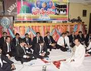 لاہور: لاہور بار ایسوسی ایشن میں منعقدہ سالانہ محفل میلاد النبیﷺ میں ..