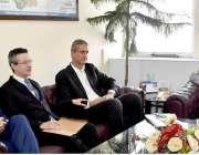 اسلام آباد:وفاقی وزیر برائے این ایف ایس اینڈ آر صاحبزادہ محبوب سلطان ..