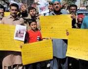 حیدر آباد: قاسم آباد کے رہائشی گھروں کو مسمار کرنے کے خلاف احتجاجی مظاہرہ ..