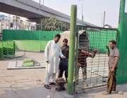 لاہور : حضرت داتا گنج بخش کے976واں سالانہ عرس مبارک کی تیاریاں جاری ہیں۔