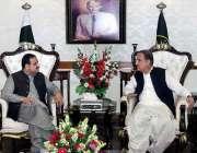لاہور: وزیر خارجہ شاہ محمود قریشی نے وزیر اعلی ہاؤس میں وزیر اعلی پنجاب ..