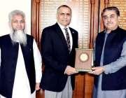 اسلام آباد: چیف سیکرٹری آزاد کشمیر مطہر نیاز رانا چیف ایگزیکٹو آفیسر ..
