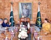 اسلام آباد: ایوان صدر عارف علوی بینگ میں بطور چیئرمین ایڈمرل (ر) آصف ..