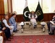 اسلام آباد: ایم ڈی ، ایس این جی پی ایل نے قومی اسمبلی کے اسپیکر اسد قیصر ..