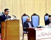 اسلام آباد: چیئرمین نیب جسٹس (ر) جاوید اقبال نیب راولپنڈی میں متاثرین ..