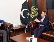 اسلام آباد: وفاقی وزیر برائے آبی وسائل فیصل واوڈا سے بی ایچ سی ٹریڈ ..