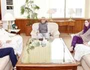 اسلام آباد: صدر مملکت ڈاکٹر عارف علوی سے وزیر مملکت موسمیاتی تبدیلی ..